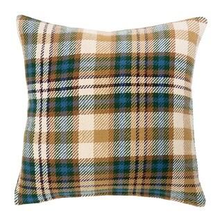 Bronwyn Plaid Woven 18 Inch Throw Pillow