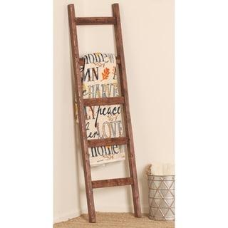 Red Mahogany Blanket Ladder