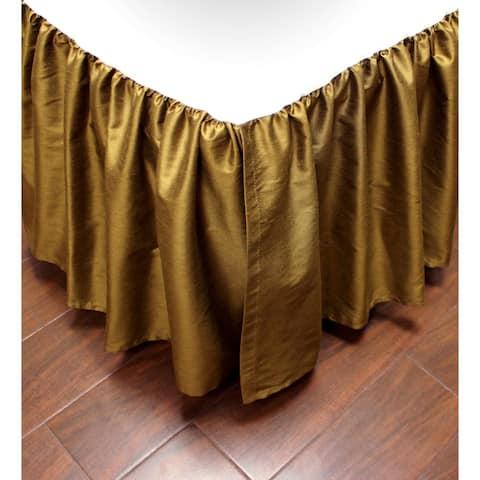 Austin Horn Classics Verona Red Luxury Bed Skirt