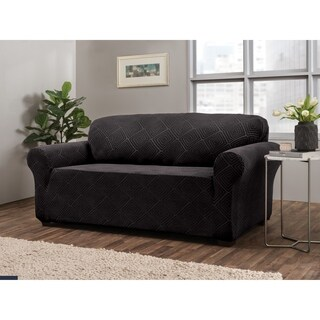 Stretch Sensations Shapely Diamond Sofa Slipcover