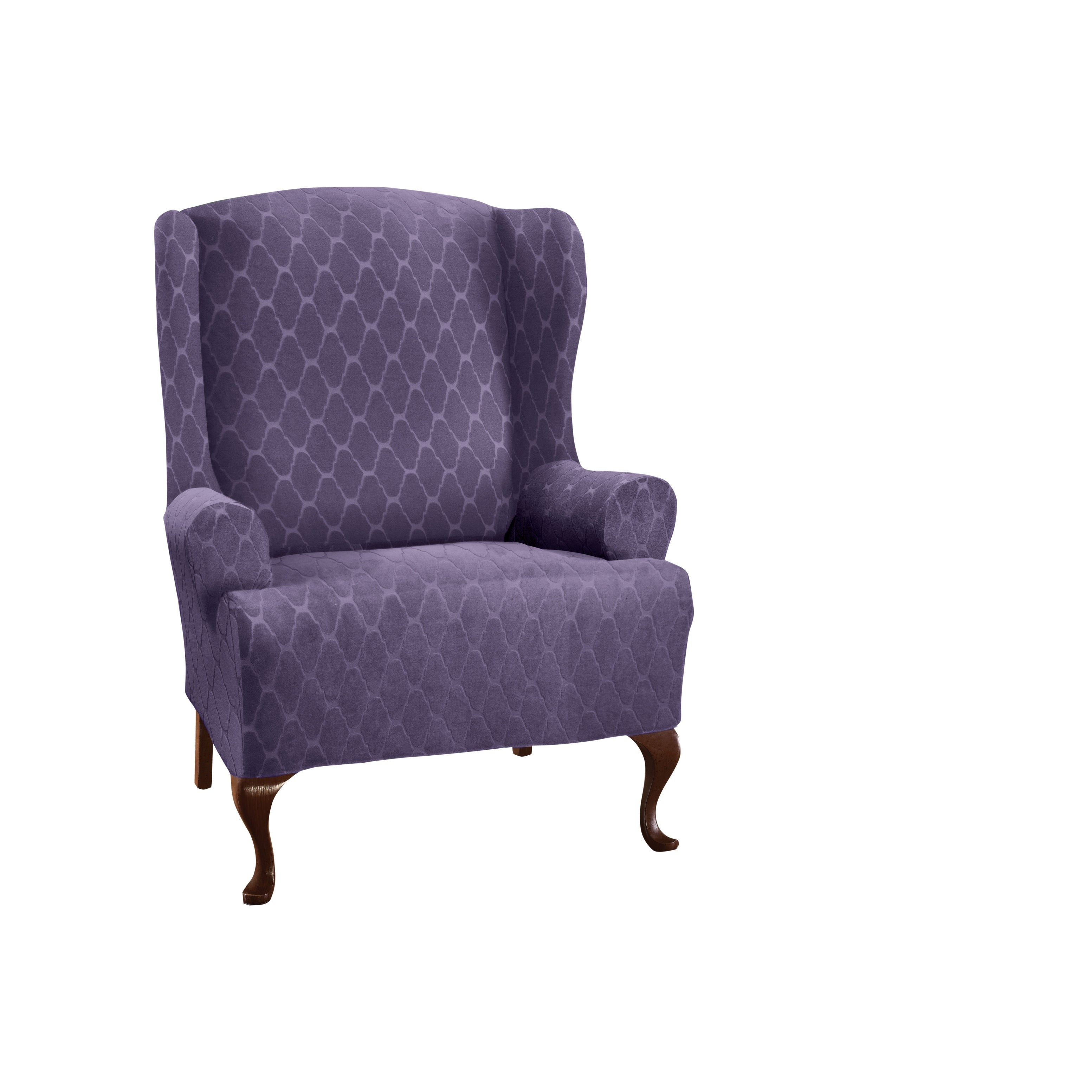 Stretch Sensations Stretch Ogee Wing Chair Slipcover
