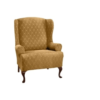 Link to Stretch Sensations Stretch Ogee Wing Chair Slipcover Similar Items in Slipcovers & Furniture Covers