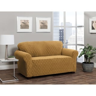 Stretch Sensations Stretch Ogee Loveseat Slipcover