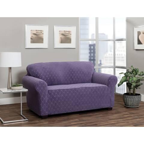 Stretch Sensations Stretch Ogee Sofa Slipcover