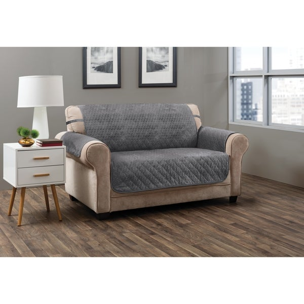 Discount Furniture Stores Online Free Shipping: Shop ITS Prism Secure Fit Sofa Furniture Protector