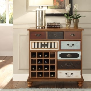 The Curated Nomad Franconia Hazelnut Wine Cabinet