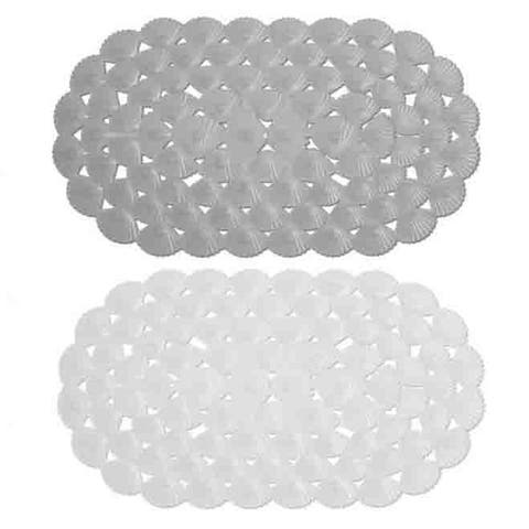 Home Basics Shells Bath Mat - 15.3 x 27.5