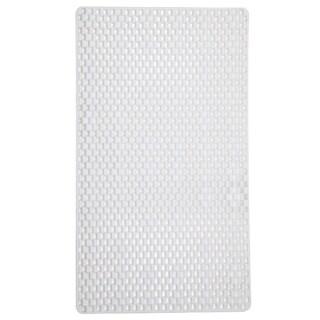 Home Basics Rubber Bath Mat - 15.6 x 29