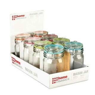 Home Basics Mini Glass Canister