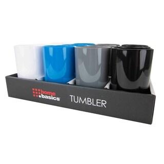 Home Basics Plastic Tumbler