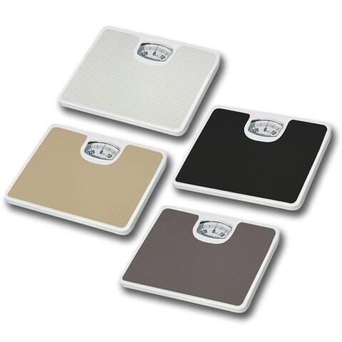 Home Basics Non-Skid Mechanical Bathroom Scale