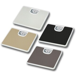 Home Basics Non-Skid Mechanical Bathroom Scale