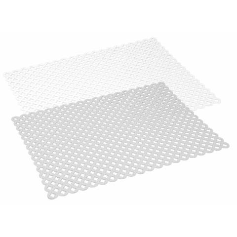Home Basics Lattice PVC Sink Mat