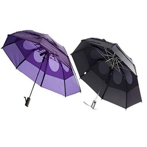 Gustbuster Metro Wind Resistant Umbrellas 2 Pack Bundle
