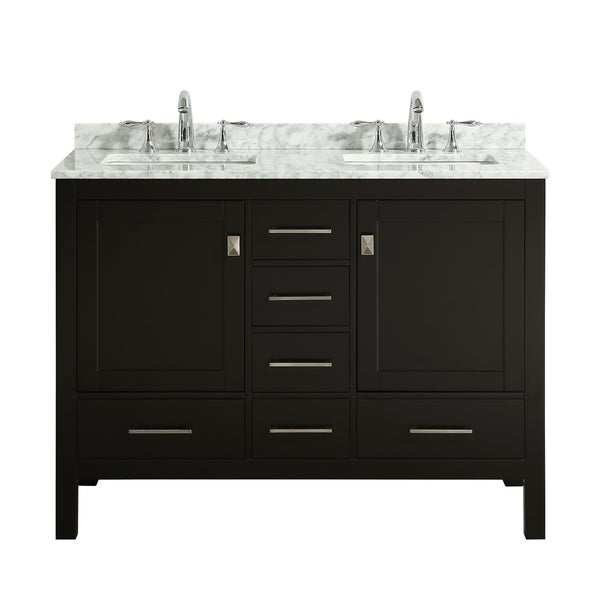 Eviva London 48 X 18 Espresso Bathroom Vanity