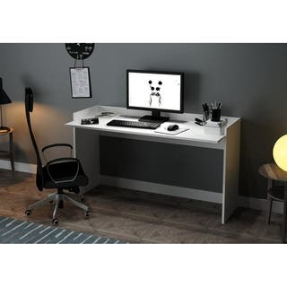 White Glossy Desks Computer Tables Online At Our Best Home Office Furniture Deals