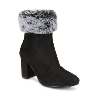 Olivia Miller 'Noorvik' Faux Fur Top Booties