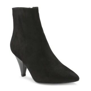 Olivia Miller 'Ruby' Cone Heel Booties