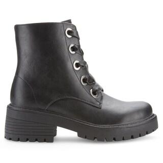 Olivia Miller 'Kodiak' Chunky Heel Boots