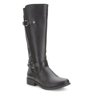 Olivia Miller 'Dillingham' Dual Buckle Gore Boots