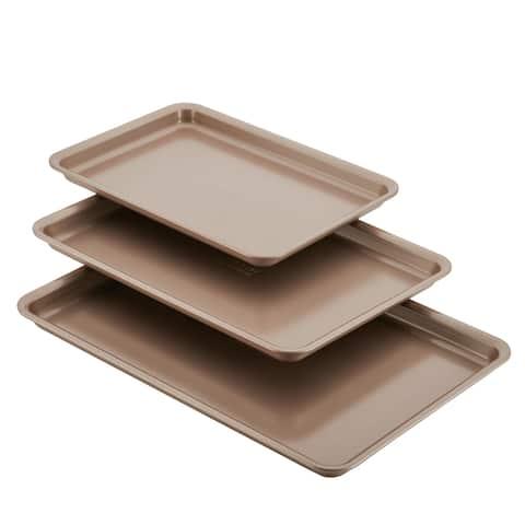 Anolon Nonstick Bakeware 3-Piece Cookie Pan Set