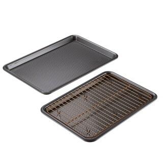 Ayesha Bakeware 3-Piece Cookie Pan Set