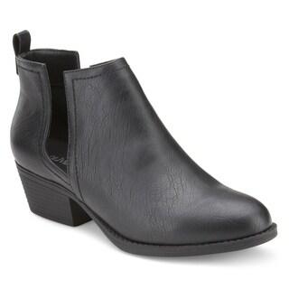 Olivia Miller 'Yukon' Chunky Heel Booties