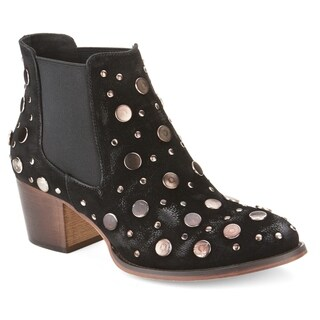 Olivia Miller 'Ward' Burnish Studded Booties