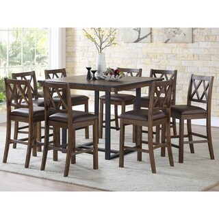 Lasalle 46-Inch Square Counter Height Dining Set by Greyson Living