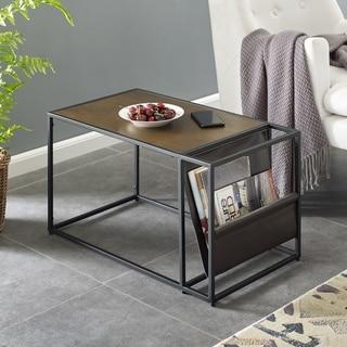 Carbon Loft Meadmore Magazine Side Table