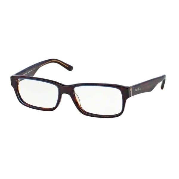 b0613a8c65 Shop Prada PR16MV Men Tortoise Denim Eyeglasses - Free Shipping ...