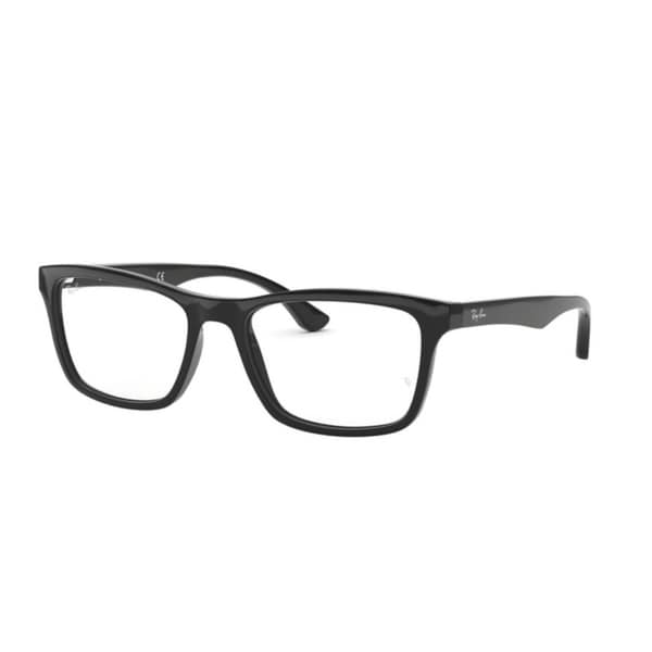 712175171a Shop Ray-Ban RX5279 Men Shiny Black Eyeglasses - Shiny Black - Free ...