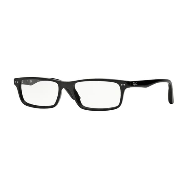 d47e8a2b10 Shop Ray-Ban RX5277 Men Shiny Black Eyeglasses - Shiny Black - Free ...