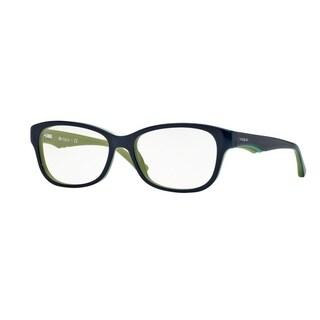 Vogue VO2814 Women Blue/Green/Yellow Eyeglasses - top blue/green/mustard