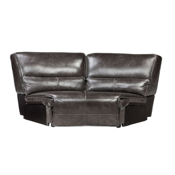 Shop Simon Li Arnstein Top Grain Leather Sectional Wedge - Free ...