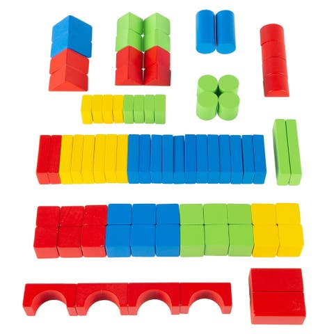 Wooden Blocks-Classic Building Set by Hey! Play!
