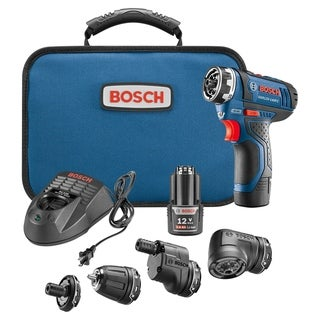 Bosch GSR12V-140FCB22 12 V Max Flexiclick® 5-In-1 Drill/Driver System