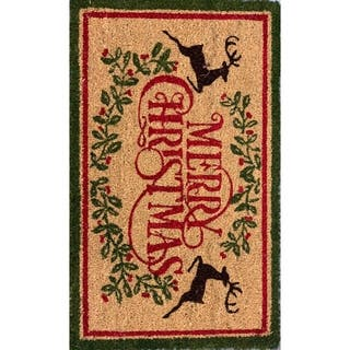 Buy Christmas Door Mats Online At Overstock Com Our Best