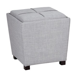 OSP Designs 2 Piece Ottoman Set with Tray Top