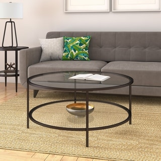 Silver Orchid Stossel 1-shelf Coffee Table