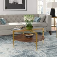 Ludo Mid-Century Modern Coffee Table (Optional Finishes)