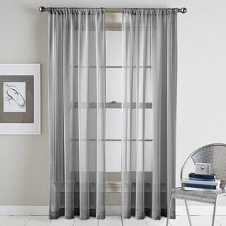 Classic Serenade Sheer Single Curtain Panel