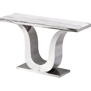 Best Quality Furniture Genuine White Marble Sofa Table