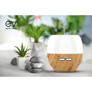 Earth Vibes Ultrasonic 200mL Essential Oil Diffuser