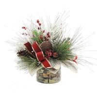 Pine Sprig and Berry Centerpiece