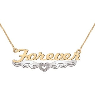 10K Gold Forever Necklace