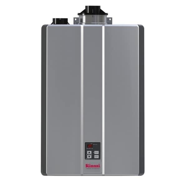 shop rinnai tankless water heater int ctwh 160k btu 9gpm max pump valve rur160in silver free. Black Bedroom Furniture Sets. Home Design Ideas