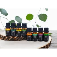 Earth Vibes Aromatherapy Top 8 Pure Essential Oils Set
