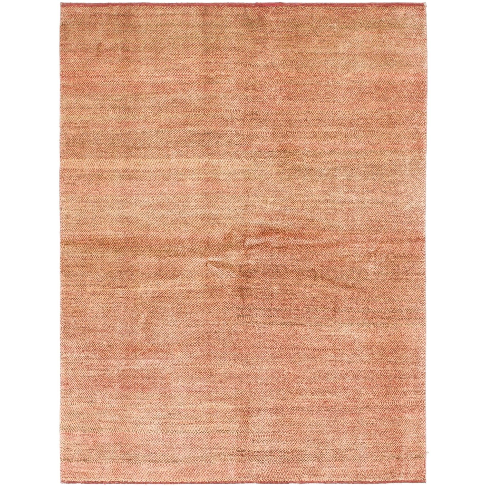 Hand Knotted Kashkuli Gabbeh Wool Area Rug - 5 5 x 7 2 (puce - 5 5 x 7 2)