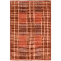 Hand Knotted Kashkuli Gabbeh Wool Area Rug - 5' 10 x 8' 7